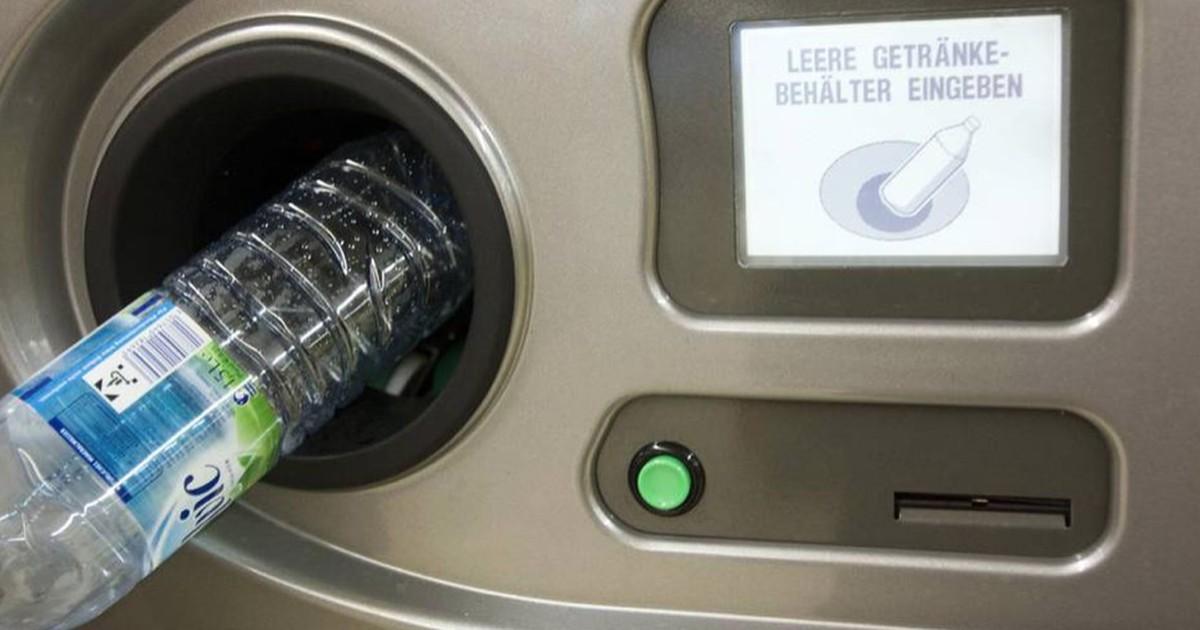 Pfandflaschenautomat